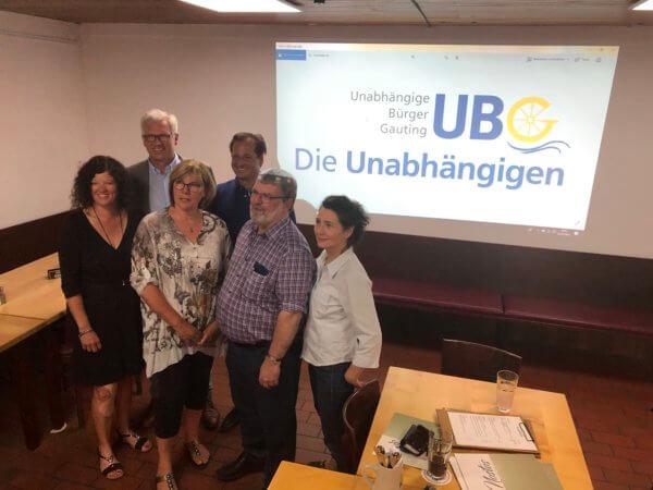 Jahreshauptversammlung UBG