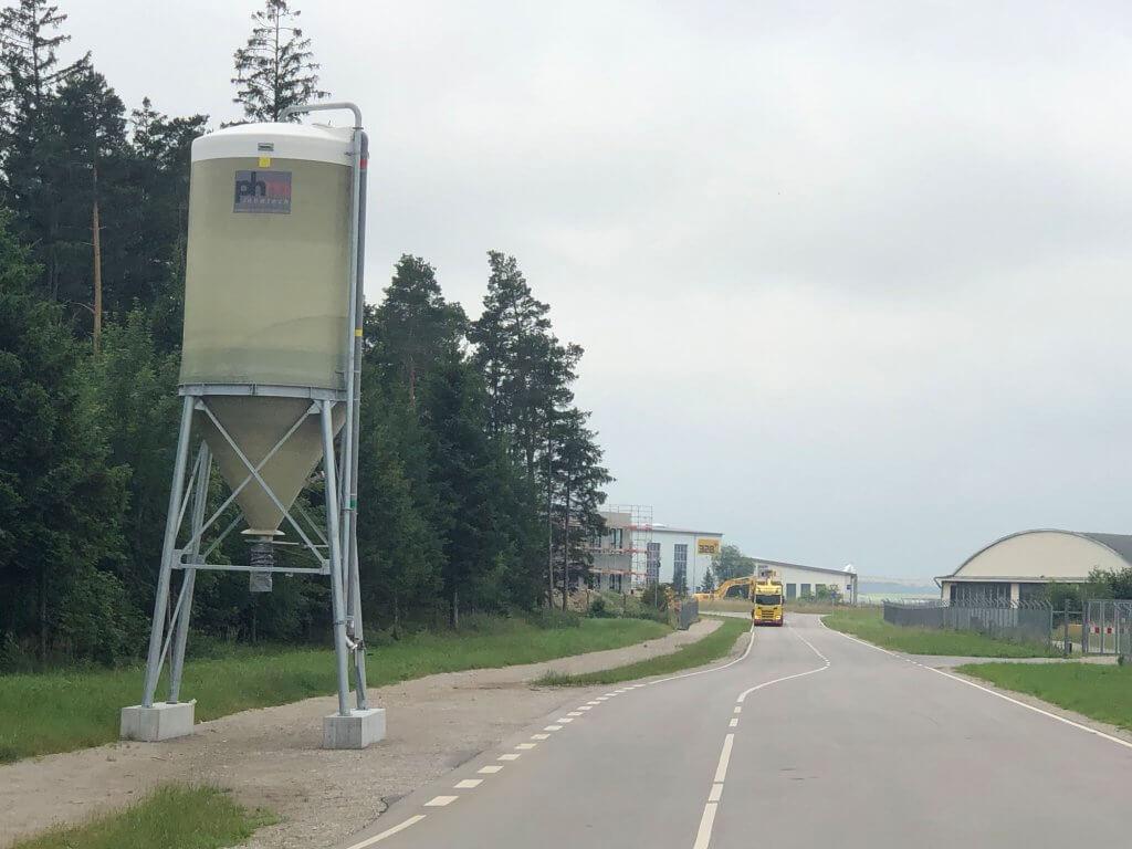 Areal für den zukünftigen Ecopark angrenzend an das Flughafengelände