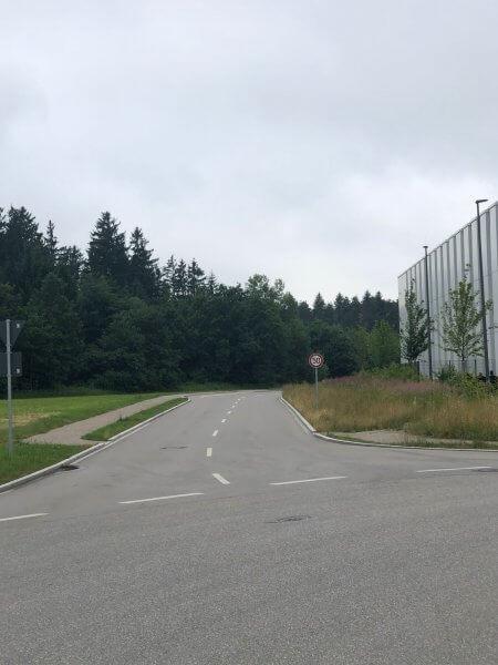 Verlängerung der Dornierstrasse vom Gilchinger Gewerbegebiet zum Flughafen Oberpfaffenhofen
